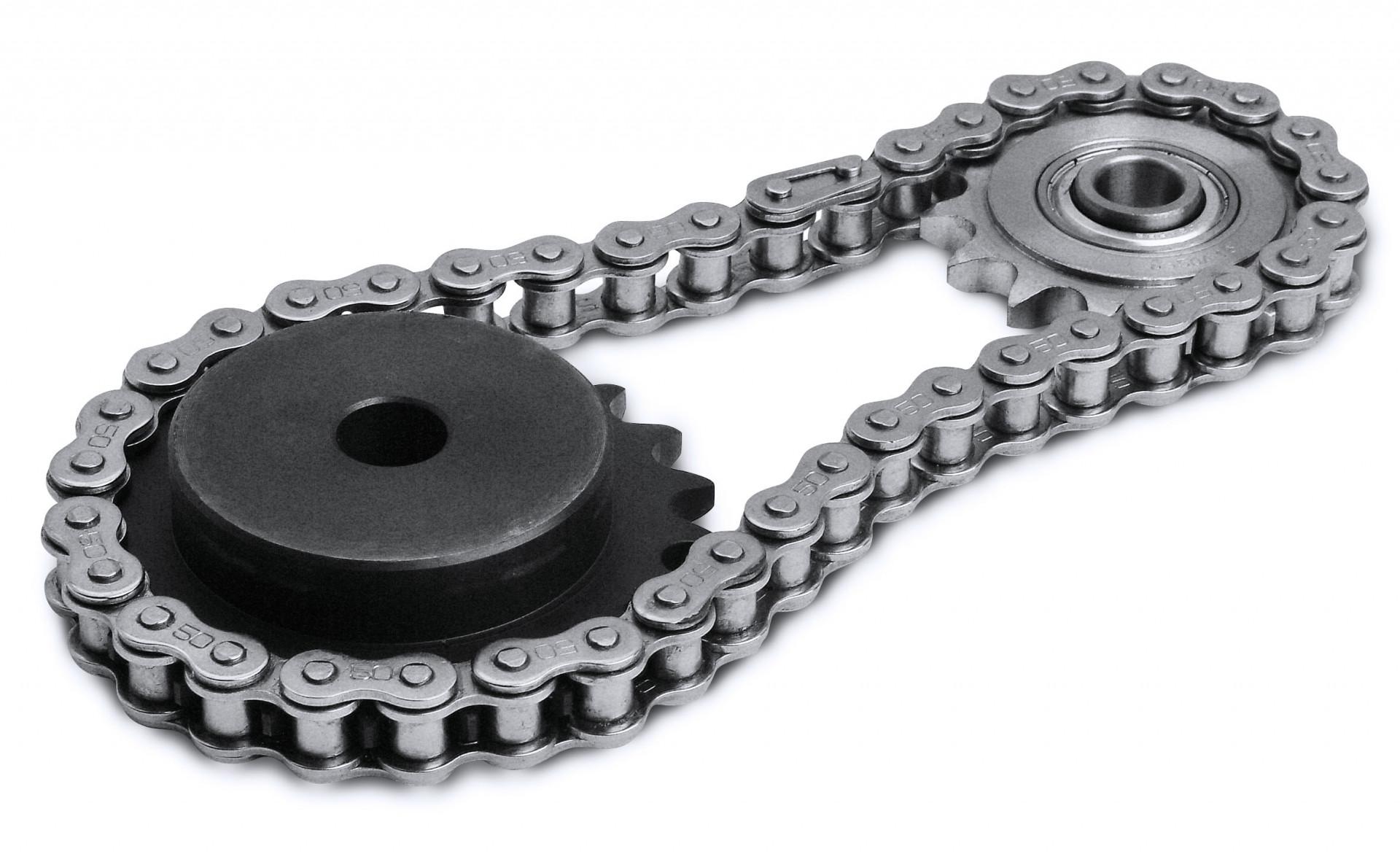 ipari görgős lánc